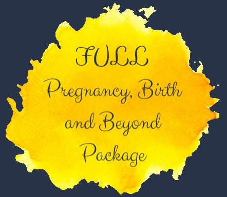 Full package, pregnancy, labour, birth, postnatal, postpartum